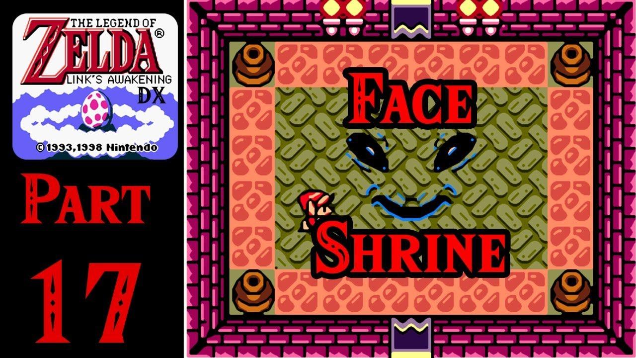 Zelda Links Awakening Dx 100 Walkthrough Part 17 Face Shrine