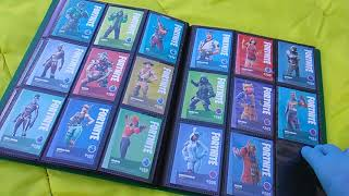 Fortnite Trading Cards, Round 9! All the Panini Cards So Far! Hit Me Up For Trades!