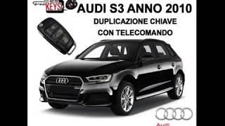 Realizzazione di una chiave per un'Audi S3