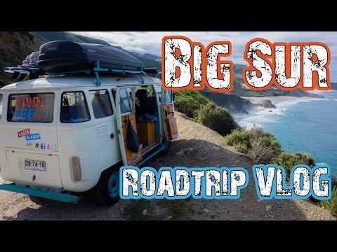 BIG SUR, California  - Road Trip The Americas in a VW BUS