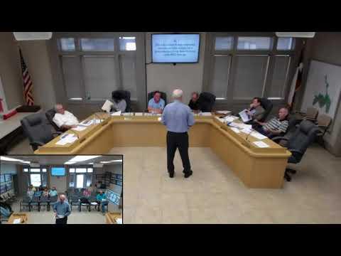 Ballinger City Council Meeting - May 7, 2018