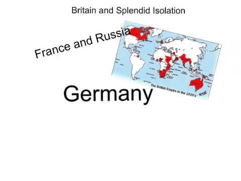 Britain and Splendid Isolation