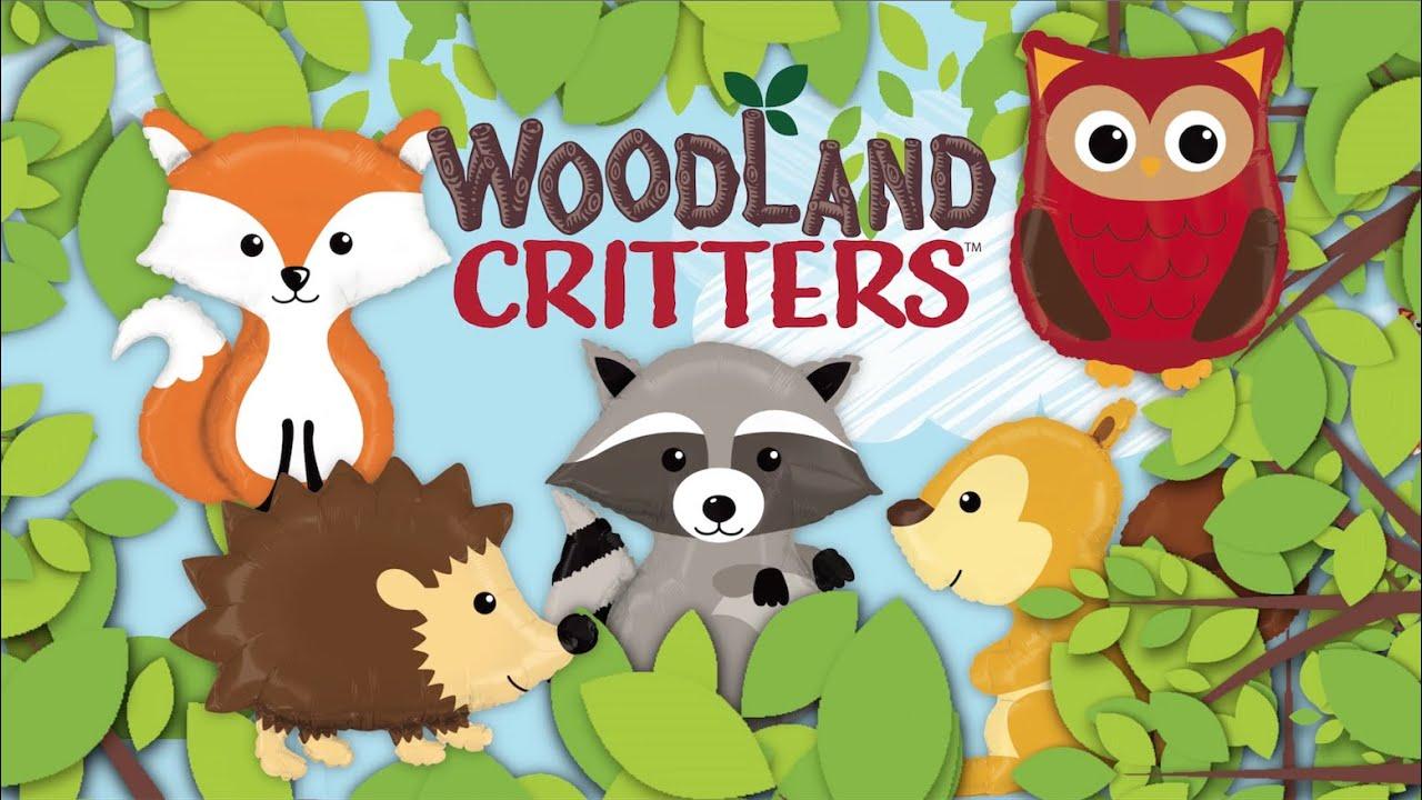 06dd9ef0187b2d Woodland Critters! - YouTube