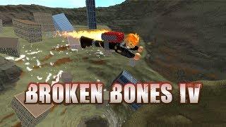 Let's Play Roblox Broken Bones 4!   MusclePug Gaming