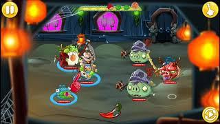 Angry Birds Epic-Masmorra:Castelo Travessura ou Gostosura! (Especial de Halloween #1)