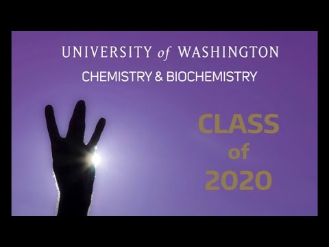 2020 UW Chemistry And Biochemistry Graduation