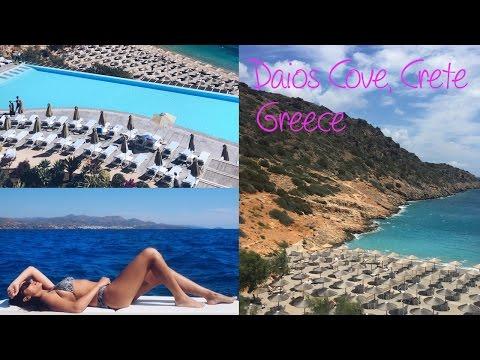 Daios Cove and Ayios Nikolaos - Travel Vlog in Crete, Greece