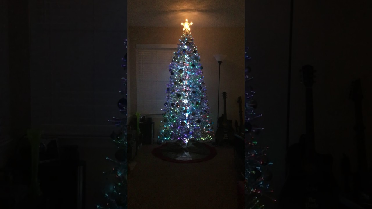 LED Fiber Optic 7' Christmas Tree Light Show