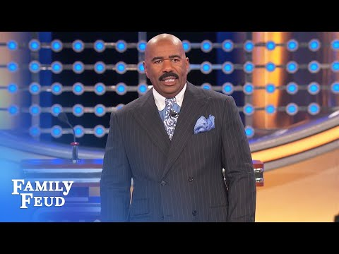 image for Steve Harvey Threatens To Walk Off 'Family Feud' Set