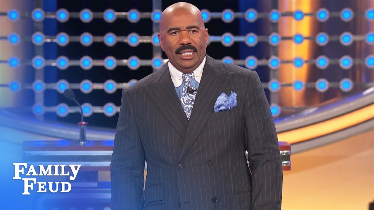 Steve Harvey Threatens To Walk Off 'Family Feud' Set