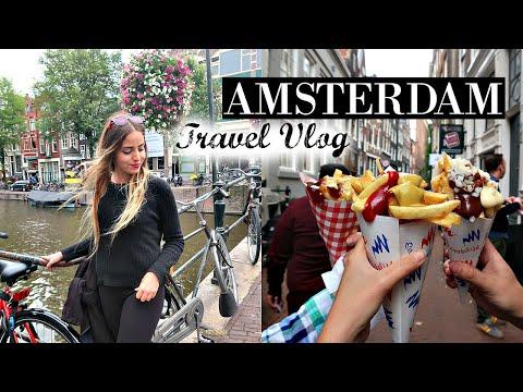 Vegan Food, Dutch Weed & Amsterdam Vlog
