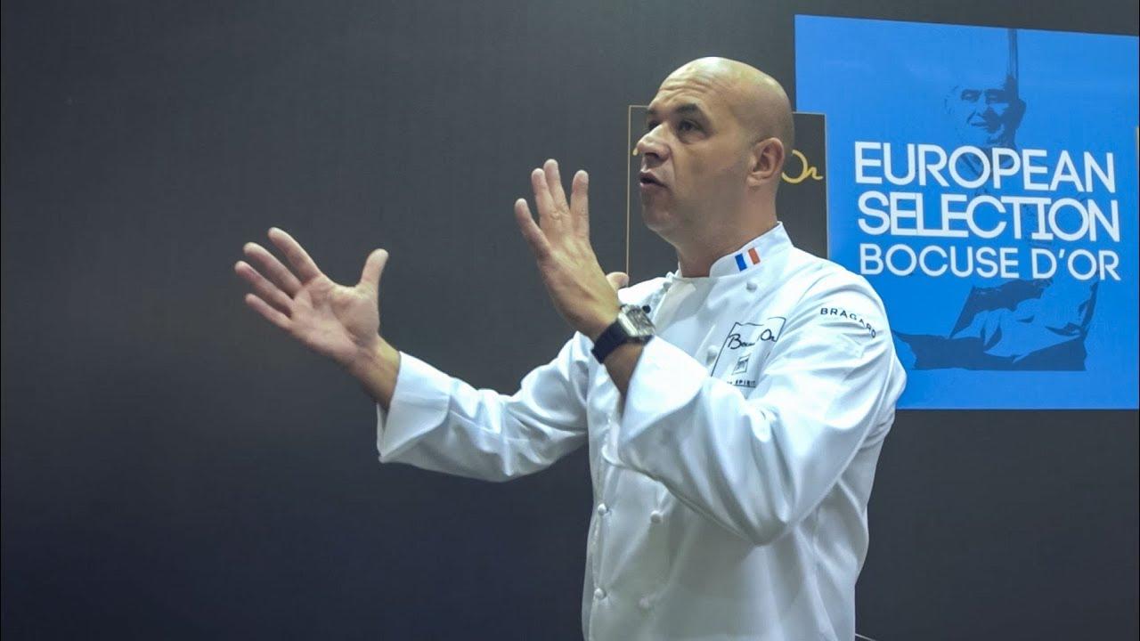 Видеоролик с международного кулинарного конкурса Bocuse d'Or