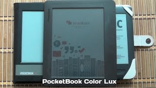 Обзор PocketBook Color Lux