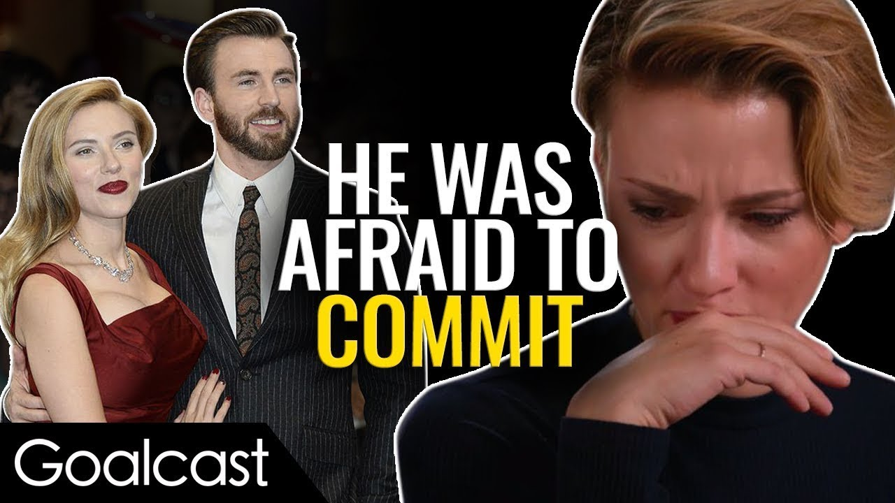 How Did Chris Evans And Scarlett Johansson Save Each Other Life Stories By Goalcast Youtube