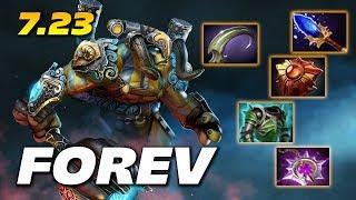 Forev Elder Titan - Super Carry 7.23 - Dota 2 Pro Gameplay