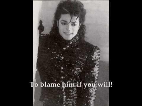 Michael Jackson Tabloid Junkie with Lyrics