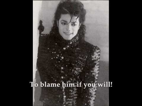 Michael Jackson Tabloid Junkie with Lyrics