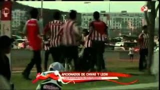 Violencia en el Chivas de Guadalajara vs Leon 2013