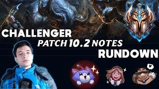 Challenger Patch 10.2 Rundown - Summary / Commentary