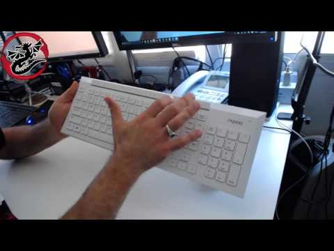 Auawak Rapoo 8200p Wireless Keyboard Mouse Combo Typing Test And Review