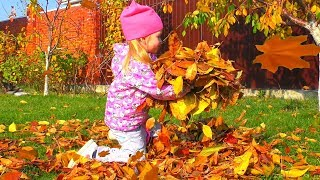 Kids Autumn Song - Autumn Leaves are Falling Down