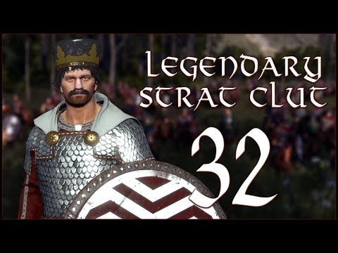 LONG FAME VICTORY - Strat Clut (Legendary) - Total War Saga: Thrones of Britannia - Ep.32!
