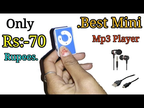 Mini Mp3 Player Review (i am  Buy Only Rs:-70 Rupees)