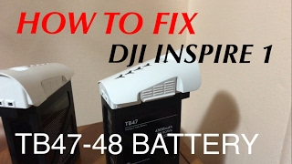 HOW TO FIX A DEAD TB47 - TB48 | DJI INSPIRE 1 BATTERY
