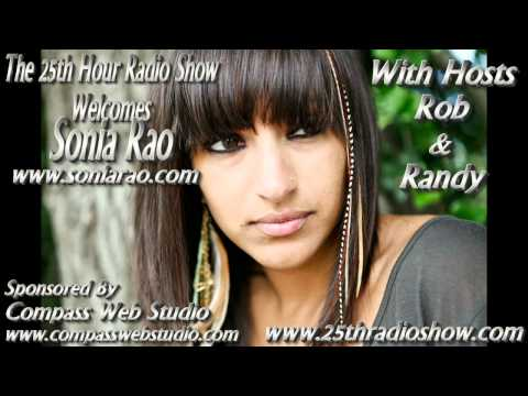 "Sonia Rao - Singer/Songwriter - NBC's ""The Voice"" - ""The 25th Hour Radio Show"""