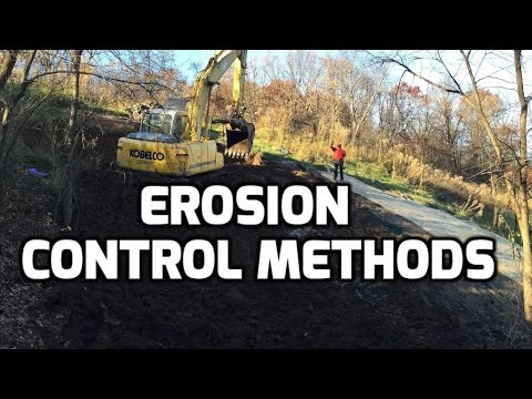 Erosion Control and Silt Fence