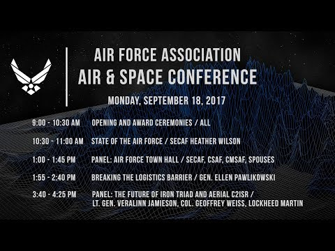 2017 Air & Space Conference Monday Sep 18, 2017