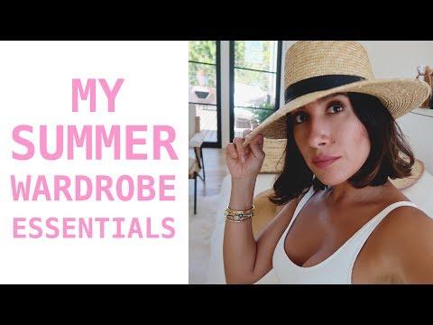 My Summer Wardrobe Essentials (Sandals, Swimsuits, Sunglasses + More) | Jen Atkin