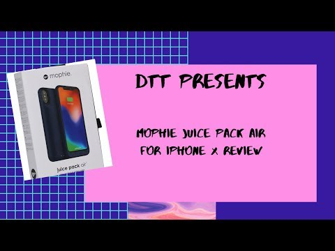 Mophie Juice Pack Air for IPhone X Review