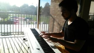 Fredric Chopin - Nocturne Op.9 No.2 By Amin Bukhari عزف بيانو هاديء