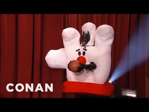 NBA Mascots That Should Never Dunk 10/28/14  - CONAN on TBS