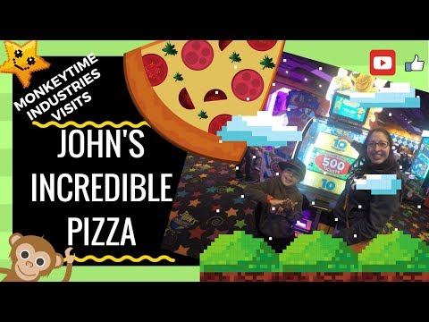 MonkeyTime Family Fun at John's Incredible Pizza Westminster Mall