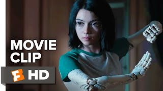 Alita: Battle Angel Movie Clip - Mirror Punch (2019) | Movieclips Coming Soon