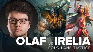 Olaf vs Irelia top lane matchup guide by TSM Dyrus - Season 5   League of Legends