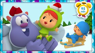 ⭐️ POCOYO in ENGLISH - A different christmas [95 min] | Full Episodes | VIDEOS and CARTOONS for KIDS