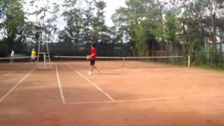 большой теннис Егоров Иван и Ростислав Разумчик (2)
