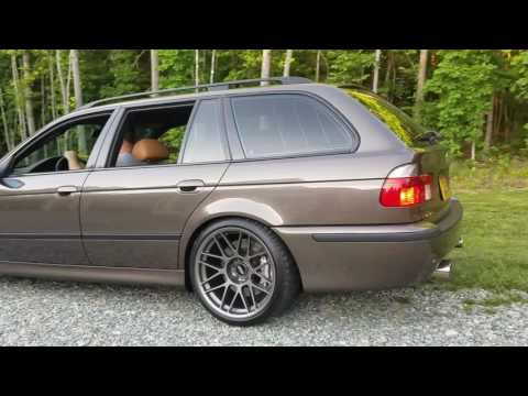 LSx 427 BMW E39 touring start and rev. LS swap