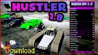 GTA V - MOD MENU HUSTLER 1.8 {SPRX/DEX} {ANTI FREEZE} + DOWNLOAD