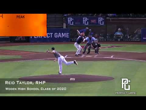 Reid Taylor Prospect Video, RHP, Woden High School Class of 2020 CF Angle