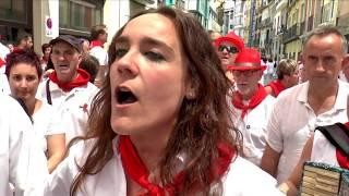 JOTAS EN LAS CALLES  -  SANFERMINES 2018