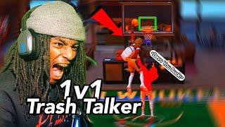 EXPOSING TRASH TALKER 1v1 MYCOURT!!! | NBA 2K20