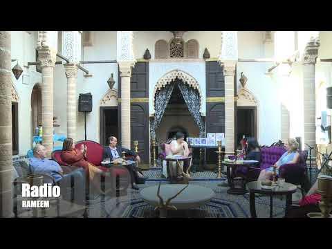 """Radio RAMEEM émission """"Les réverbères de Radio Rameem """"à Rabat."""