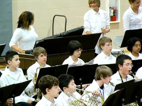 """North Whidbey Middle School Band """"Northpointe Fanasy"""" (1st of 2 parts)"""