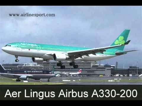 Aer Lingus Fleet of Aircraft