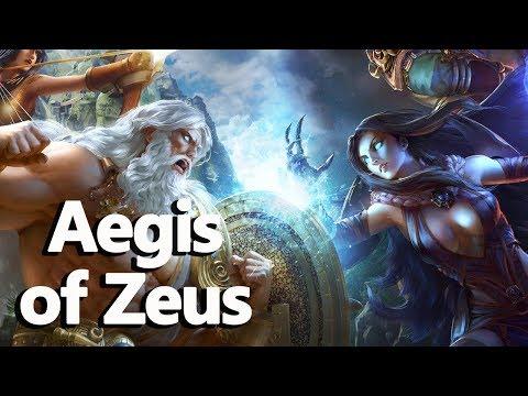 Aegis of Zeus (The Shield of Athena) Greek Mythology - See U in History