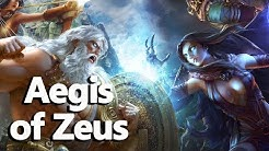 Aegis of Zeus (The Shield of Athena) Greek Mythology - See U in History